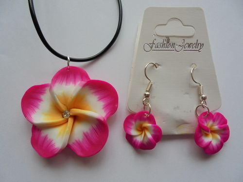Hawaii Flower Schmuckset #1