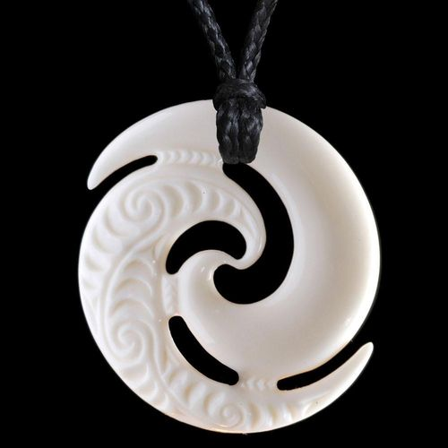 Large Engraved Koru